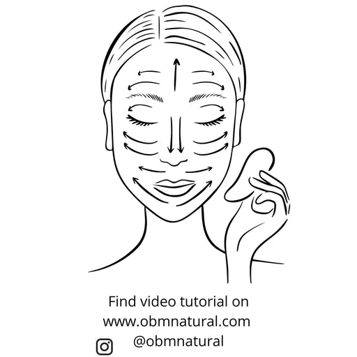 Gua Sha Facial Massaging Tool - Shop HamOnt