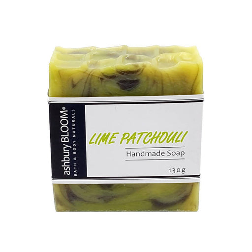 Lime Patchouli Handmade Soap - Shop HamOnt