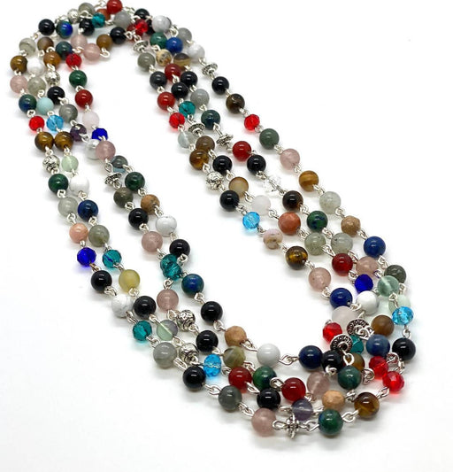 Multi gemstone necklace - Shop HamOnt