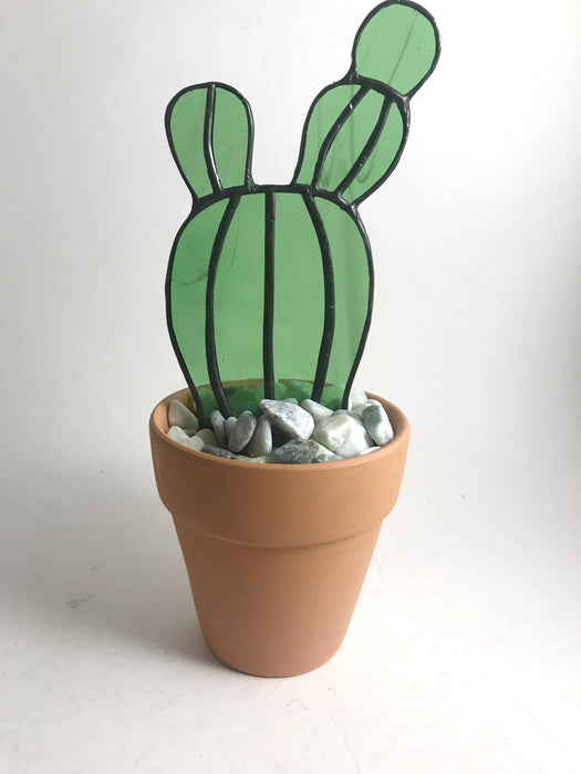 Stained Glass Bunny Cactus - Shop HamOnt