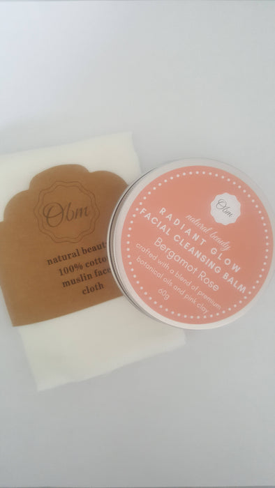 Radiant Glow Facial Cleansing Balm - Bought It Local