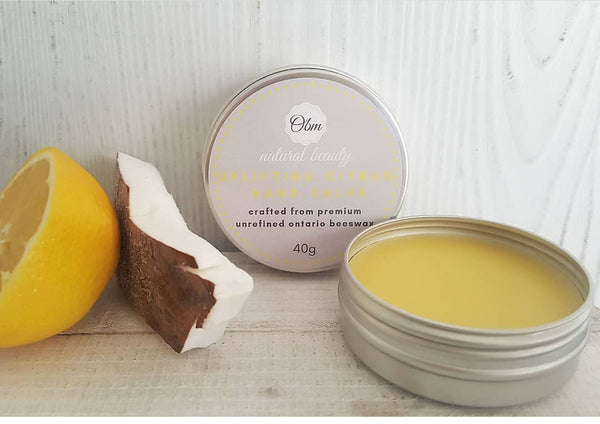 Uplifting Citrus Hand Salve - Shop HamOnt