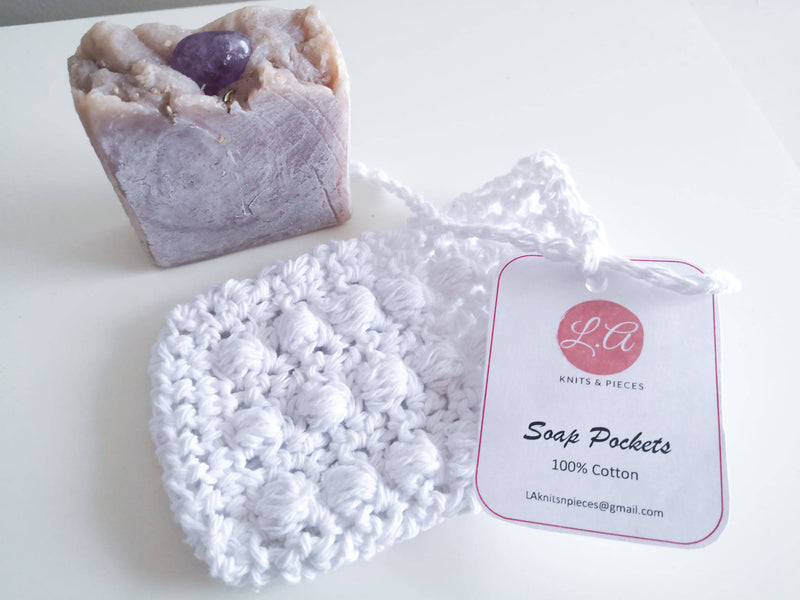 Soap Pocket/Saver - White