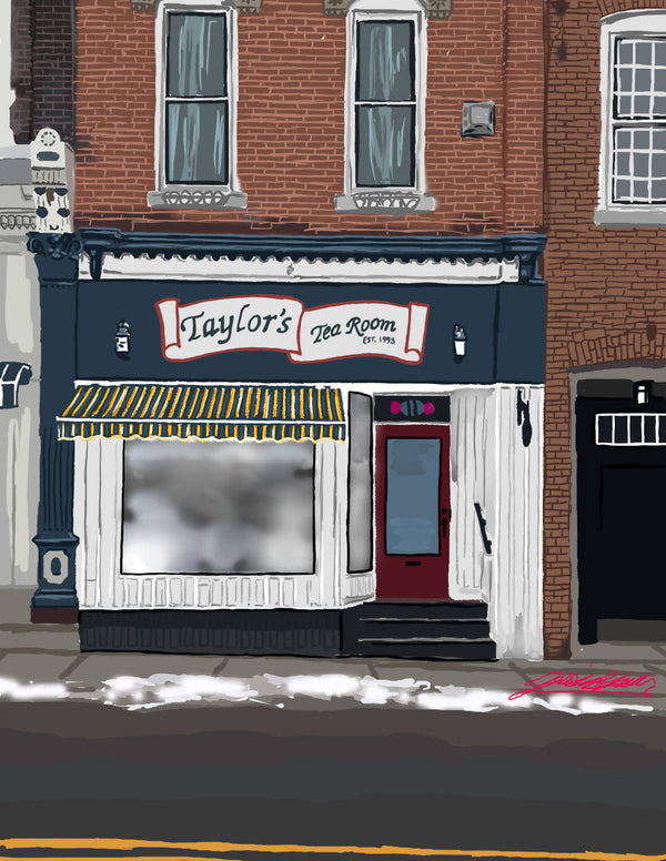 Taylor's Tea Room - Art Prints