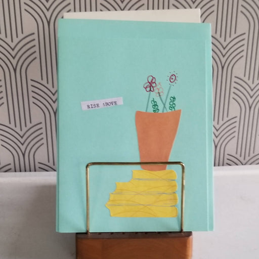 Greeting Card (collage, blank) - Bought It Local