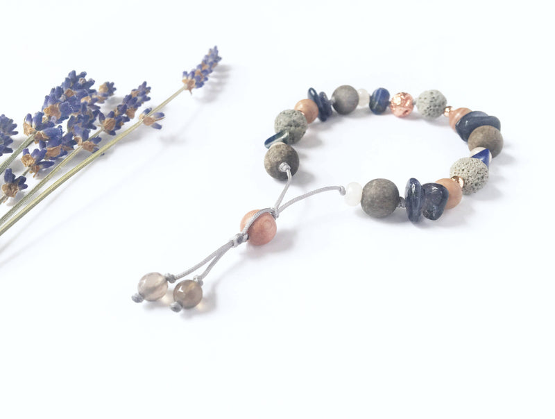 """Autumn Sunset"" Diffuser Bracelet - Shop HamOnt"