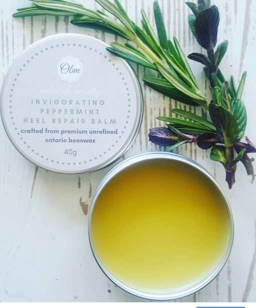 Invigorating Peppermint Heel Repair Balm - Shop HamOnt