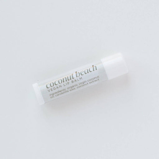 Vegan Coconut Beach Lip Balm - Bought It Local