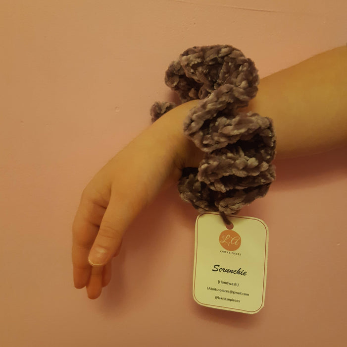 Scrunchie - Purple - Shop HamOnt