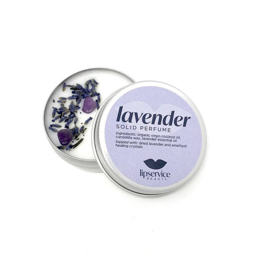 Lavender Solid Perfume Salve - Bought It Local
