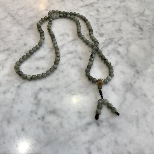 Labradorite Stones Beaded Mala Necklace - Shop HamOnt