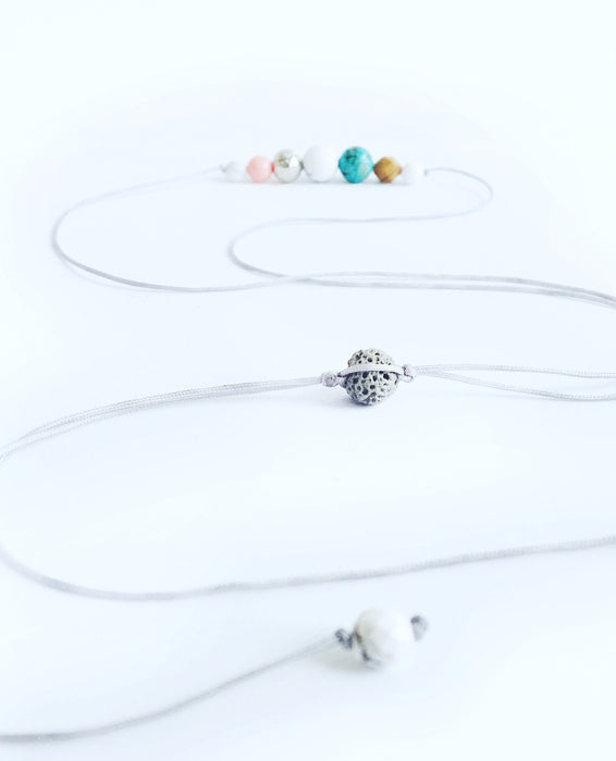 """Surf's Up"" Adjustable Demi Diffuser Necklace - Shop HamOnt"