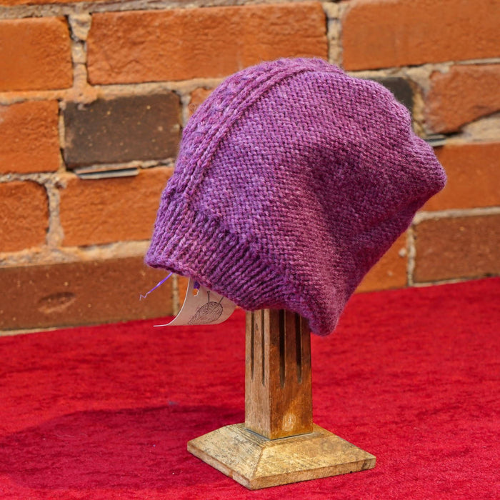 ellënoire Curly Safe Hats - Lilac Long Toque - Shop HamOnt