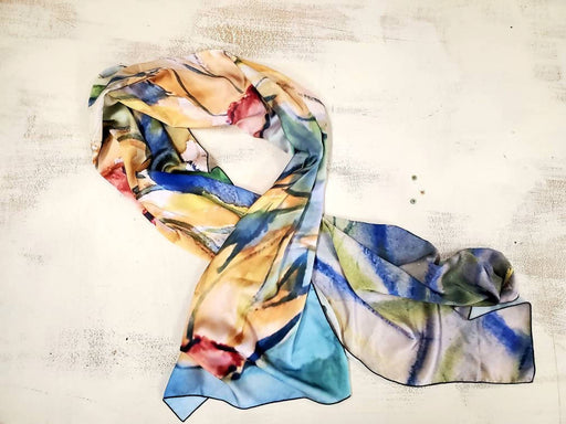 Peaceful Meadow Printed Scarf - Shop HamOnt