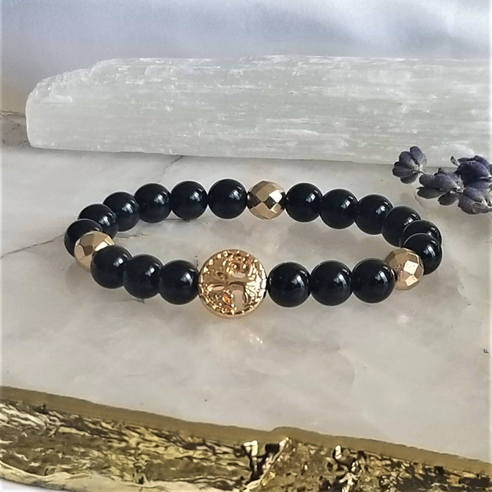 Protection & Strength - Gemstone/Healing/Intention Bracelet