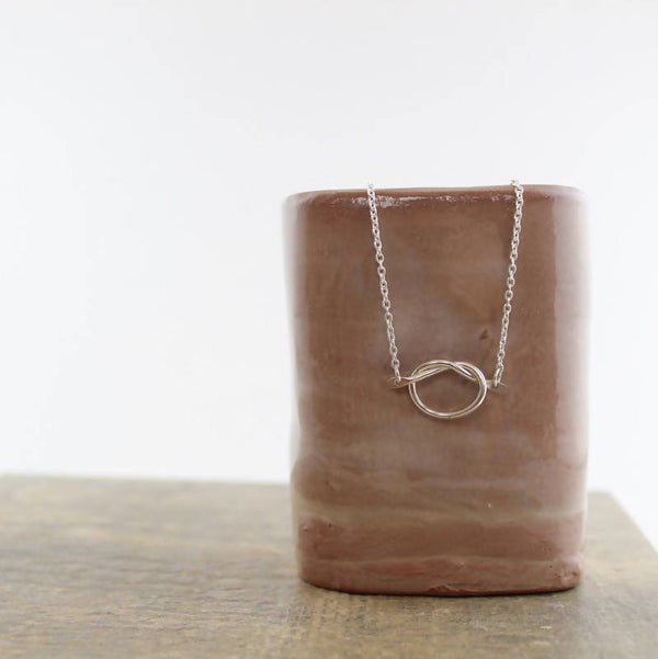 Love Knot Necklace - Shop HamOnt