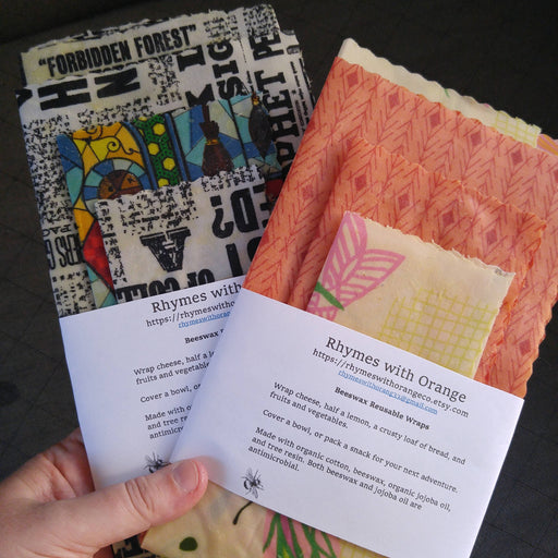 Beeswax Food Wraps - Shop HamOnt