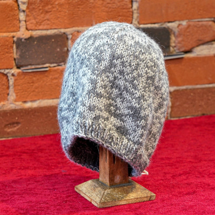 ellënoire Curly Safe Hats - Marbled Grey Toque