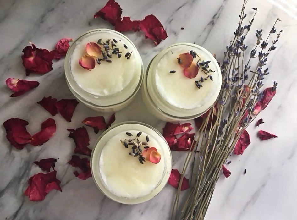 Lavender Rose Face Scrub - Shop HamOnt