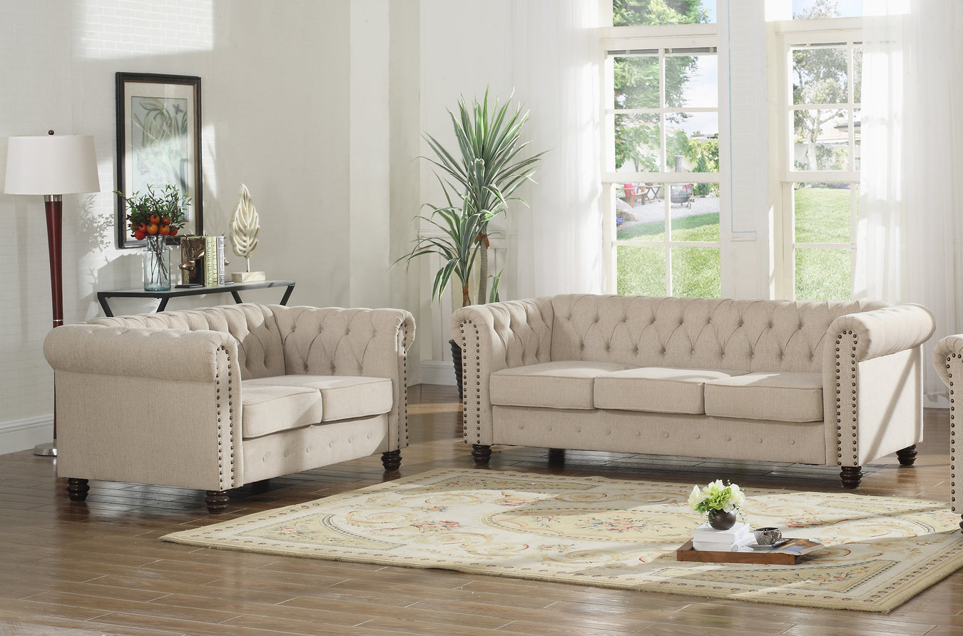 Fabric Sofa Sets