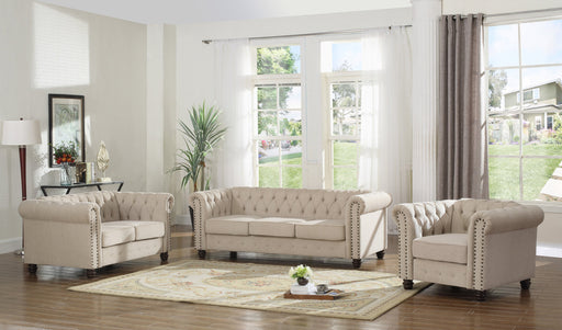 Cordoba 3-PC Living Room Set