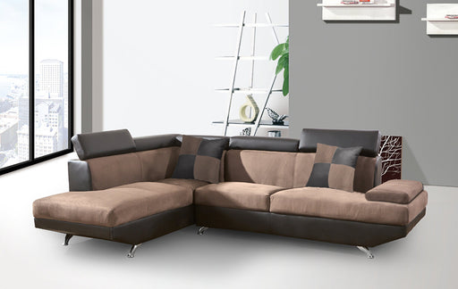 4644-L -2PC Two tone Sectional