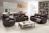 7218- 3 PC Bonded leather livingroom set