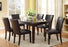 2702 - 6 PC Faux Marble Dining Set
