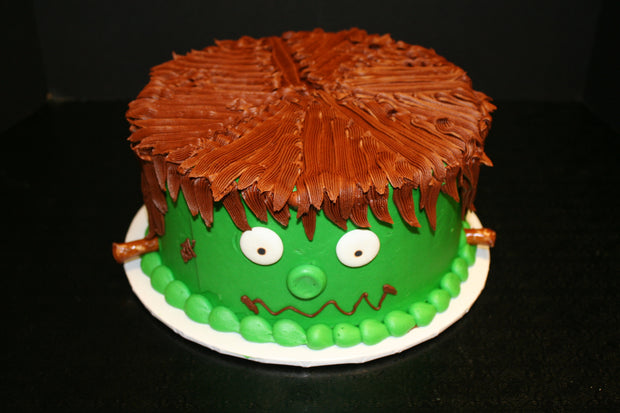 Frankenstein Party Cake