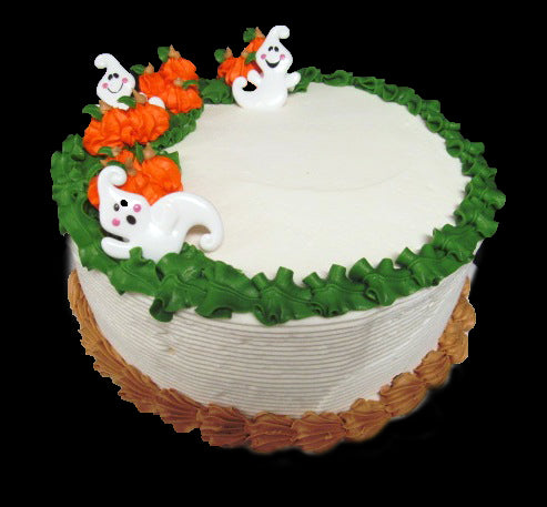 Haunted Pumpkin Patch Party Cake