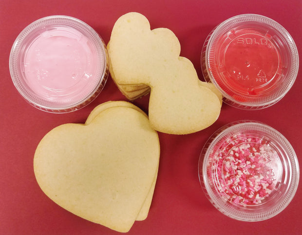 Valentine Cookie Decorating Kit