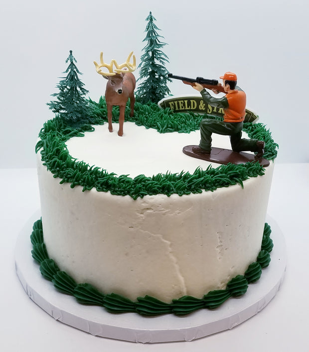 Deer Hunter Party Cake