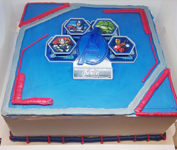 Avengers kit Birthday Cake