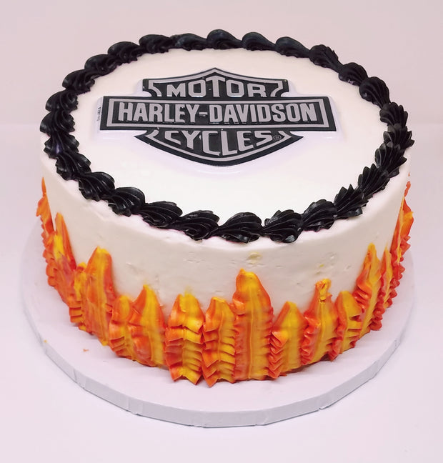 Harley Davidson Party Cake