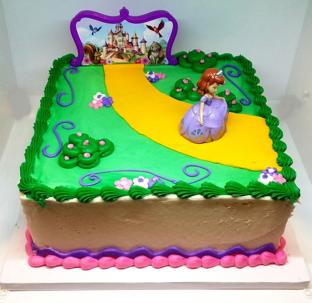 Sofia the First kit Birthday Cake