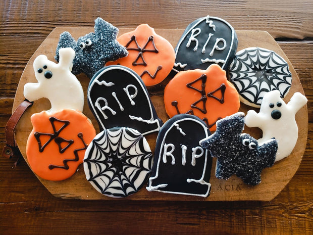 Baker's Assortment Halloween Cookies