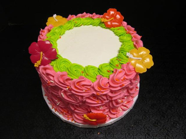 Rossettes and Flowers Torte Style