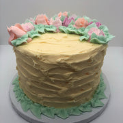 Mother's Day Flower Bed Cake