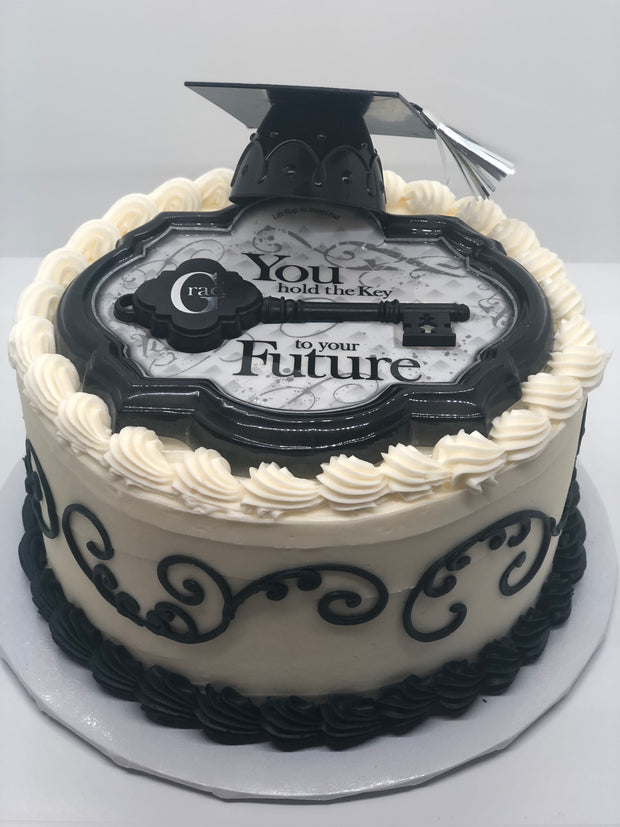 Grad Key to Future Party Cake