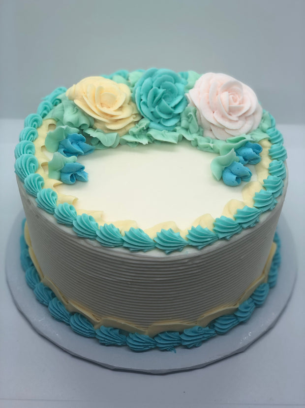 Mother's Day Roses Cake