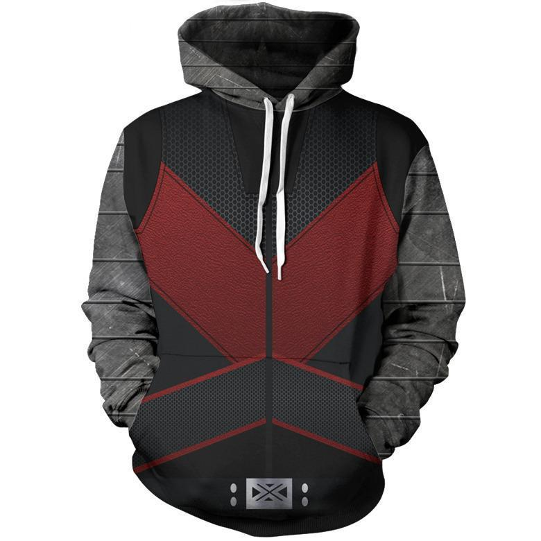 Marvel Ant Man 3D Printed Hooded Sweatshirts