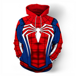 Man Fashion Spider-Man Cosplay 3d Hoodie