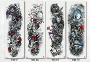 Colorful Png Tattoo Sleeve