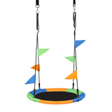 Oxford Cloth Round Swing Set