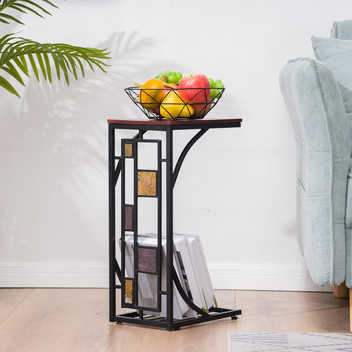 Iron Side Table Coffee Table