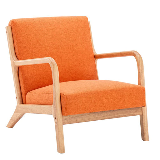 Fabric Oak Sofa Recreational Chair