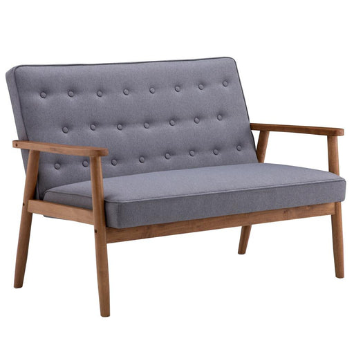 Retro Modern Wood Sofa Chair