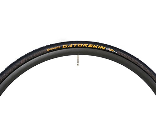 Continental Gatorskin Bike Tire - DuraSkin Puncture & Sidewall Protection, Road Bike Replacement Tire (23c, 25c, 28c, 32c)
