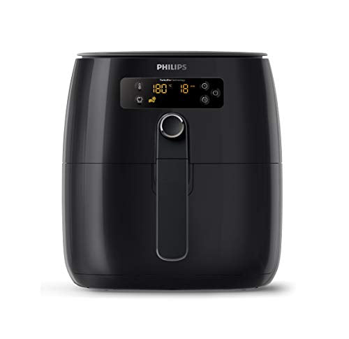 Philips TurboStar Technology Airfryer, Digital Interface, 1.8lb/2.75qt- HD9641/96