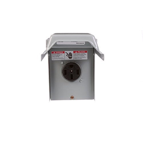 Talon LGP1S 50-Amp Enclosed, Outdoor Rated, Receptacle